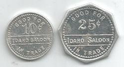 Idaho Saloon 10c 25c